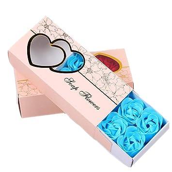 Amazon.com: Calidad. Jabón de flores artificiales con aroma ...
