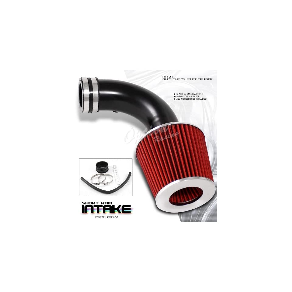 Chrysler PT Cruiser 01 05 Short Ram Air Intake System Black