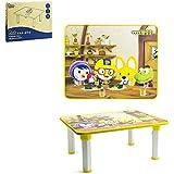 Pororo Kids Activity Table with Folding Legs (Yellow)