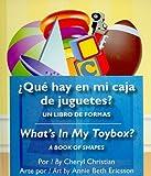 What's in My Toybox? (Spanish/English), Cheryl Christian, 1595721797