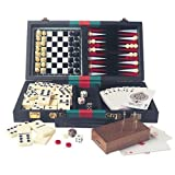 6-in-1 Travelling Games Compendium by House of Marbles