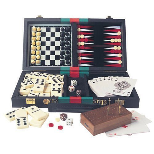 6-in-1 Travelling Games Compendium by House of Marbles by House of Marbles