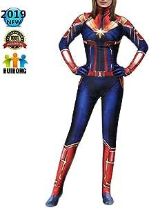 HUIHONG Disfraz De Capitán Cosplay Disfraz De Batalla De Mujer ...