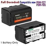 Kastar BP-U30 Battery for Sony BP-U30 BP-U60 BP-U90 and PXW-FS7/FS5/X180 PMW-100/150/150P/160 PMW-200/300 PMW-EX1/EX1R PMW-EX3/EX3R PMW-EX160 PMW-EX260 PMW-EX280 PMW-F3 PMW-F3K PMW-F3L Camcorders
