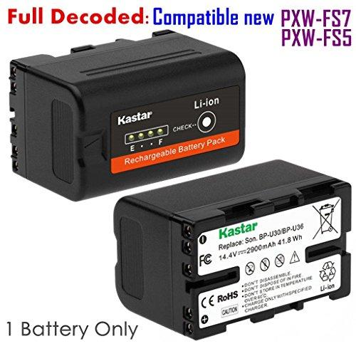 Kastar BP-U30 Battery for Sony BP-U30 BP-U60 BP-U90 and PXW-FS7/FS5/X180 PMW-100/150/150P/160 PMW-200/300 PMW-EX1/EX1R PMW-EX3/EX3R PMW-EX160 PMW-EX260 PMW-EX280 PMW-F3 PMW-F3K PMW-F3L Camcorders by Kastar