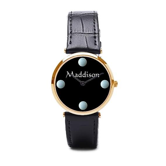 tinax reloj de pulsera, correa de piel poco blanco pasivo ejercicio actividad para personas mayores