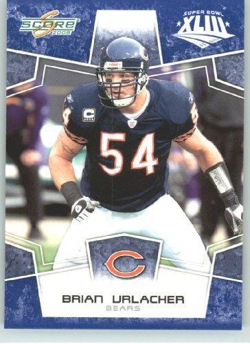 2008 Donruss - Score Limited Edition Super Bowl XLIII Blue Border # 55 Brian Urlacher - Chicago Bears - NFL Trading ()
