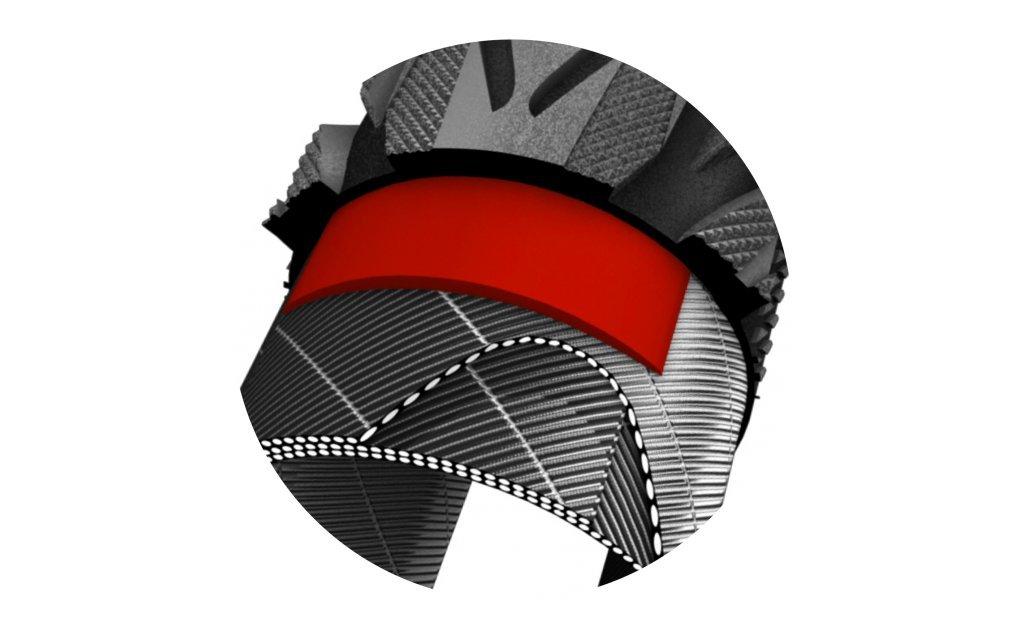 Bandes r/éfl/échissantes Noir Pneus Impac 28/x 2,00//50 622/mm bigpac Protection anti-crevaison
