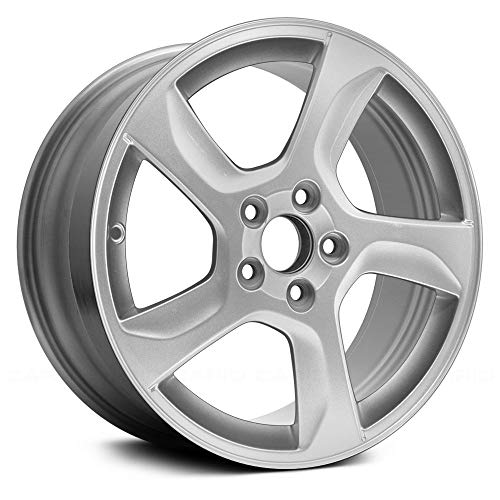 Replacement M 17X7 Alloy Wheel Sparkle Silver Full Face Painted Fits Volvo S60