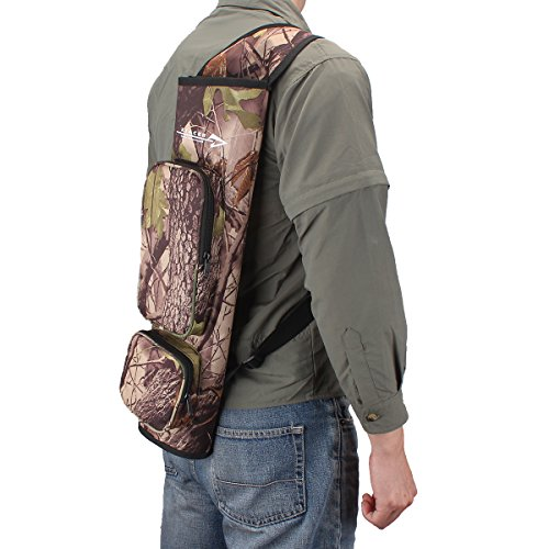 XTACER-Ultralight-Arrow-Quiver-Hunting-Training-Camo-Archery-Arrow-Target-Quiver-Holder-Bow-Belt-Shoulder-Bag-Pouch-Hip-Quiver-or-Back-Quiver