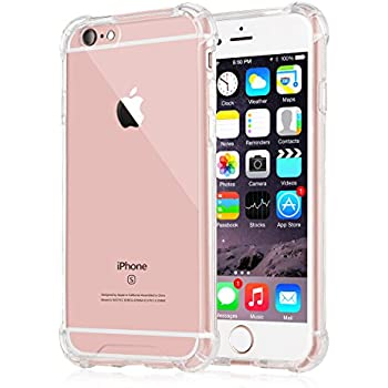 Amazon Com Iphone 6 Plus 6s Plus Case Ixcc Crystal Cover Case Shock Absorption With