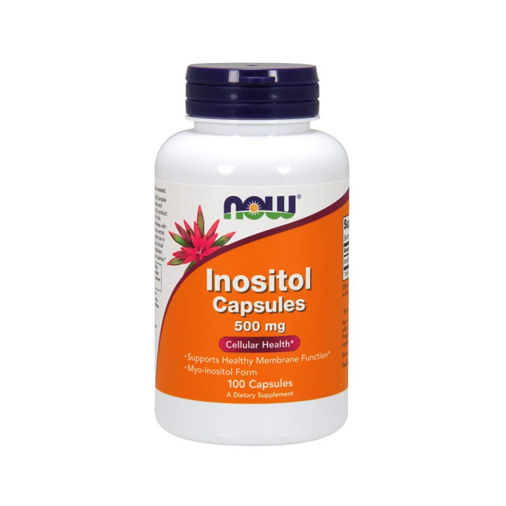 NOW Foods Inositol, 100 Capsules / 500mg