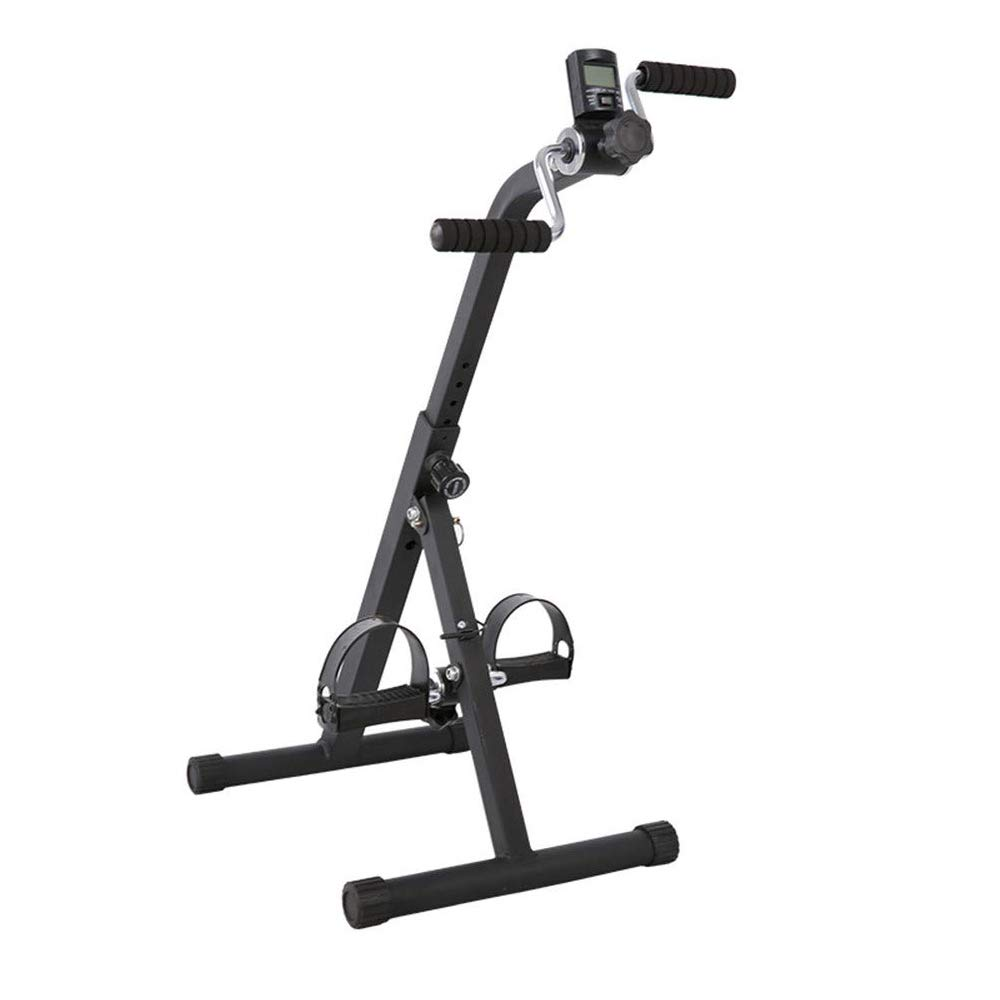 Other Medical Peddler Pedal Exerciser for Leg Arm and Knee Recovery Exercise with LCD Monitor, Portable Pedal Exerciser Fitness Equipment for Seniors and Elderly