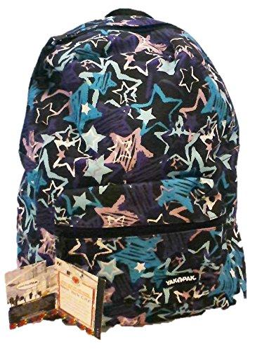 Yak Pak NYC Classic Backpack, 1,152 Cu In, Crazy Stars Blue