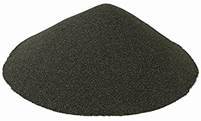BLACK BEAUTY Abrasives Blast Media Extra Fine Abrasive 30/60 Mesh Size for use in Sandblast Cabinet - 10 LBS