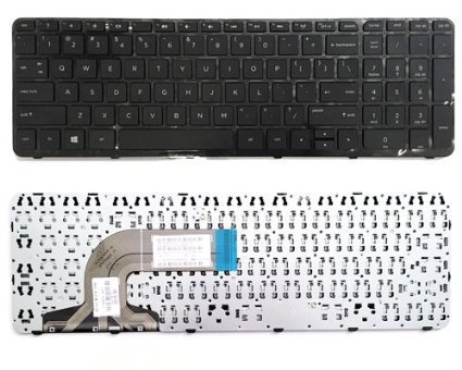 Replacement Laptop Keyboard With Frame For HP Pavilion 15 15-n 15-e 15-g 15-r 15-r000 15-r030wm 15-r035TX 15-r036 15-r011dx 15-r110dx 15-r052nr 15-r053cl 15-r015dx 15-r017dx 15-r018dx 15-r024nr 15-r058no15-r059no 15-r063nr 15-r104ng 15-r102ng 15-R273ng 15