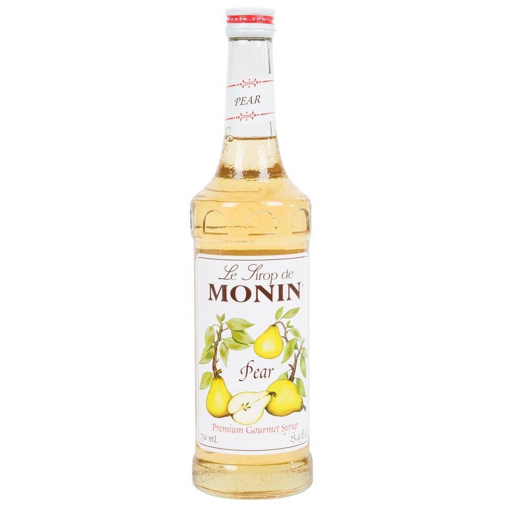 Monin Pear Syrup, 750 ml