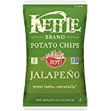 Kettle Brand Potato Chips, Jalapeno, 8.5 Ounce Bag