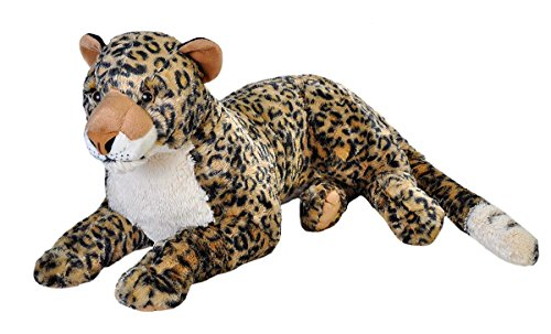 (Wild Republic Jumbo African Leopard Plush, Giant Stuffed Animal, Plush Toy, Gifts for Kids, 30 Inches)