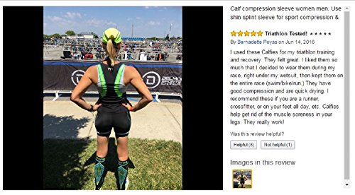 Amazon.com: BETTER THAN KT TAPE for SHIN SPLINTS: Seriously Tight CALF COMPRESSION SLEEVES, Guard & protect shins/calves. Prevents swelling, aids muscle ...