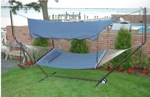 & Amazon.com: Bliss Hammocks HA-509BU Steel Canopy: Garden u0026 Outdoor