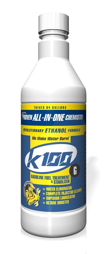 K100 G Gasoline Treatment - 12/32 oz. case by K100