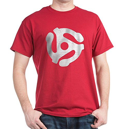 CafePress Spiral 100% Cotton T-Shirt Cardinal
