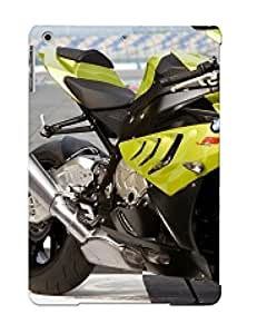 Hot Tpu Motorcycle Cover Case For Ipad/ Air Case Cover Skin Yellow Design - Bmw S1000