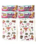 AHA Temporary Tattoos 120 pcs Barbie in Princess