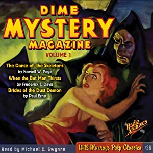 Dime Mystery Magazine, Volume 1 Audiobook