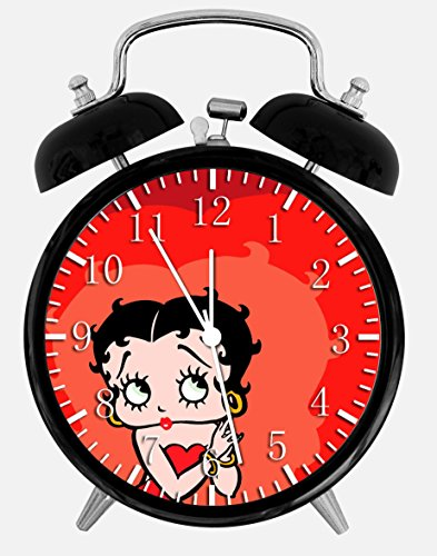 Betty Boop Alarm Desk Clock 3.75
