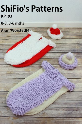 knitting pattern - KP193 - cocoon papoose 2 sizes