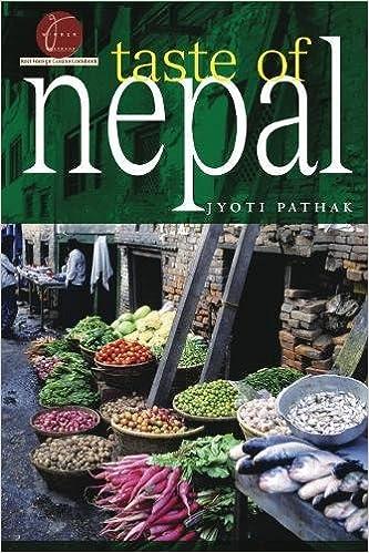 taste of nepal hippocrene cookbook library paperback