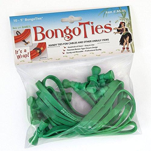 BongoTies GREEN Bongo Ties A5 01 G product image