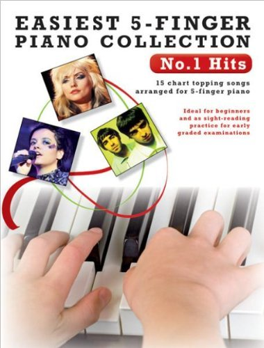 Read Online Easiest 5-Finger Piano Collection No.1 Hits by Various (2010-11-16) ebook