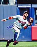 Autographed Eddie Rosario Photograph - 8x10 - Autographed MLB Photos