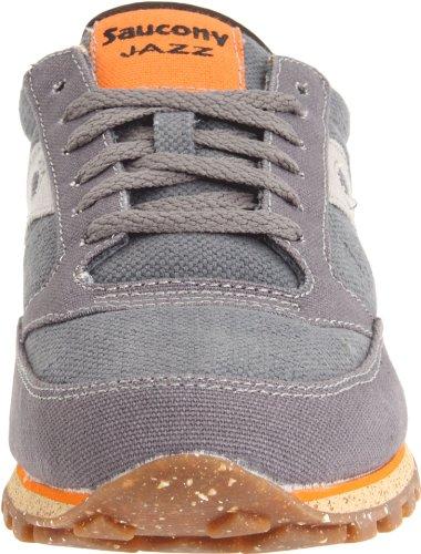 Saucony Originals Sneakers Jazz Lo Pro Vegan Charcoal/Orange EU 46.5