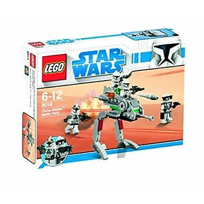 Star Wars Lego 8014 Clone Walker Battle Pack: Toys & Games