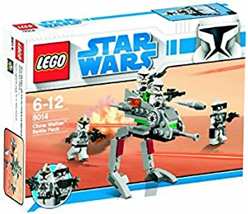 LEGO Star Wars 8014 Clone Walker Battle Pack - Equipo de Combate ...