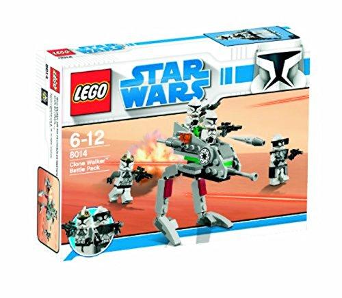 Star Wars Lego 8014 Clone Walker Battle Pack (Lego Star Wars Walker Battle Pack)