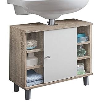 WILMES Badmöbel, Waschbecken, Badezimmerunterschrank, Unterschrank ...