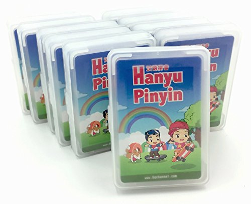 Hanyu Pinyin Playing Card - Simplified Chinese - 10 decks (Chinese Playing Cards Deck)