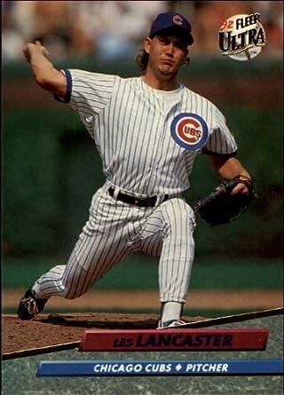 Amazoncom 1992 Ultra Baseball Card 177 Les Lancaster