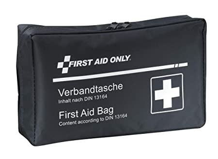First Aid Only Verbandtasche für Auto, KFZ DIN 13164, blau, P-10019