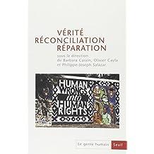 Genre humain, no 43: Vérité, réconciliation, réparation