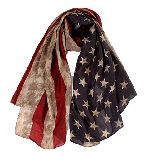 Deamyth Women Printed Voile Headscarf