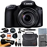Canon PowerShot SX60 HS 16.1MP Digital Camera with 65x Optical Zoom and Built-in WiFi/ NFC (Advanced Kit)