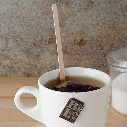 Birch Wood Coffee / Beverage Stirrers 7'' (1000 pack) Eco-Friendly Great For Your Coffee Nook. by CulinWare (Image #2)