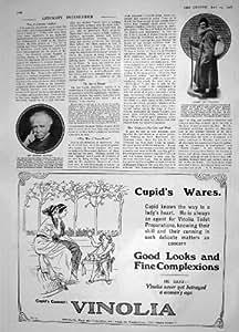 1908 Jabón De León Tolstói Charles Santley Vinolia De La Cuenta