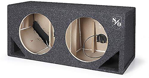 Sound Ordnance BB122-125V ダブル 12インチ ベントボックス 1.36立方フィート (x2) B01ENR31EW
